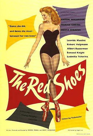 The Red Shoes 1948 movie poster